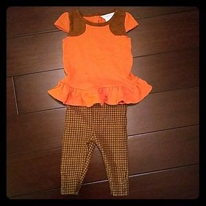 Baby Girl Shirt/Pant Set